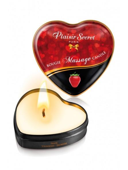 Mini bougie de massage Fraise