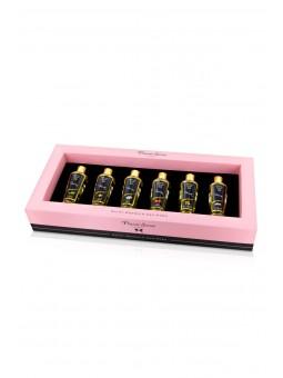 Coffret 6 huiles de massage sèches - Plaisir Secret